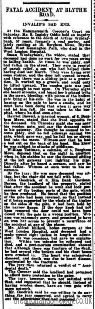 The West London Observer, Friday, September 9, 1904